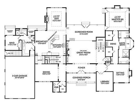 house plans 6 bedrooms 6 bedroom house plans with basement new 17 best house plans images on new home