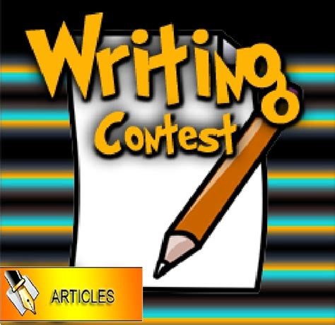 Writing Sweepstakes - alter reality games 2nd ccg writing contest alter reality games