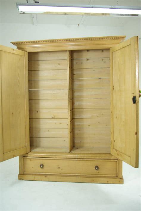 large wardrobe cabinet b281 large pine two door armoire wardrobe display pantry