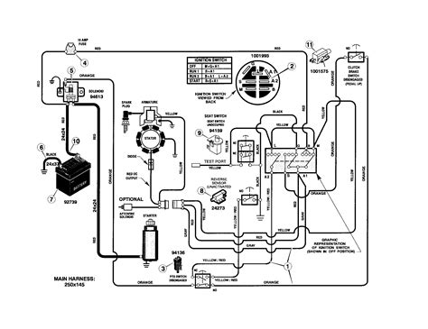 craftsman tractor wiring diagram wiring diagram