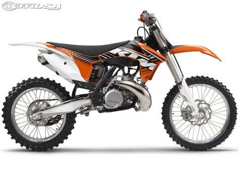 Ktm 450 2 Stroke 2012 Ktm Sx And Sx F Motocross Photos Motorcycle Usa