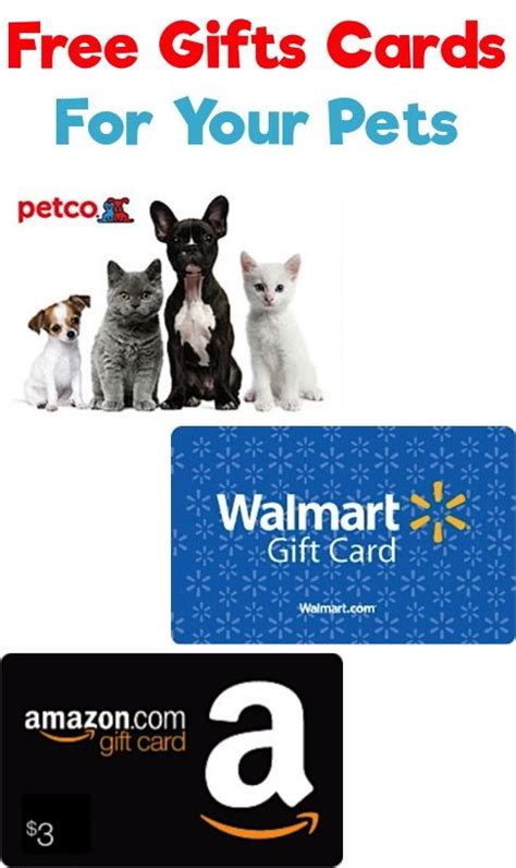 Free Gift Cards With Money On Them - save money on pets my favorite tip for how to earn free gift cards for your dogs and