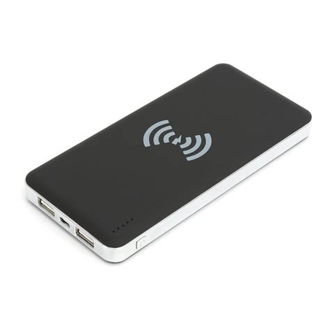 omega wireless charger power bank ouwcl3 black