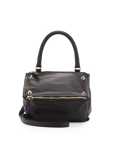 Givenchy Small Pandora givenchy pandora small leather shoulder bag in black lyst