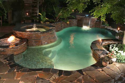 luxury backyards luxury backyards traditional pool austin by cody