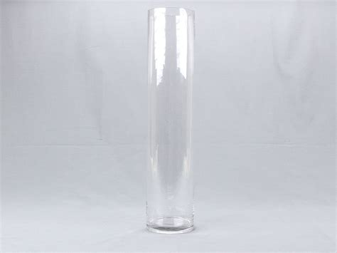 18 quot 4 quot opening clear glass cylinder vase flower
