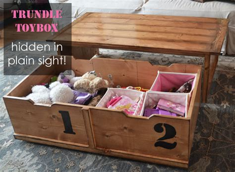 toy box for living room ana white 20 sec tidy up coffee table diy projects