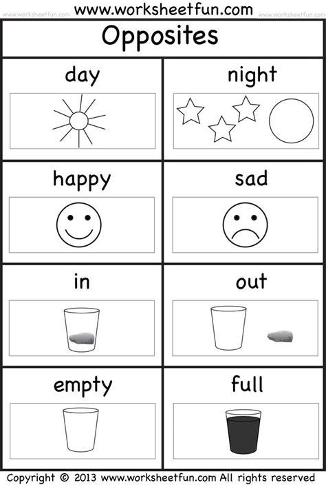 pre kindergarten worksheets http www worksheetfun wp content uploads 2013 10 opposites pictures wfun 1 png