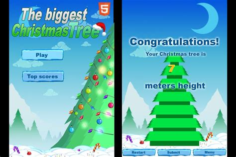 the biggest christmas tree cool math games run
