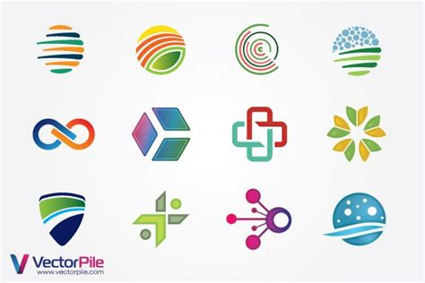 mixed logo design elements vector files 365psd com