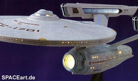 starship enterprise model with lights detailed trek models trek u s s