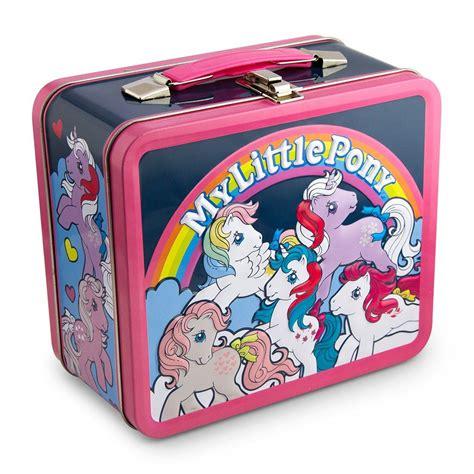Lunch Box My Pony my pony retro ponies lunchbox metal box new by