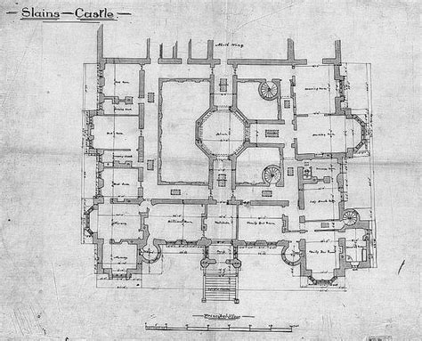 glamis castle floor plan slains castle 1st floor plan flickr photo sharing
