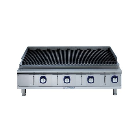 bench grill electrolux agg48ce 1220mm char grill bench model arcus