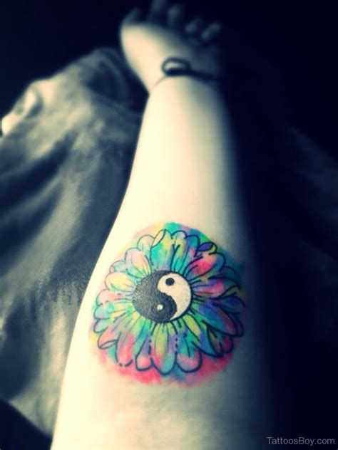 yin yang watercolor tattoo yin yang tattoos designs pictures page 2