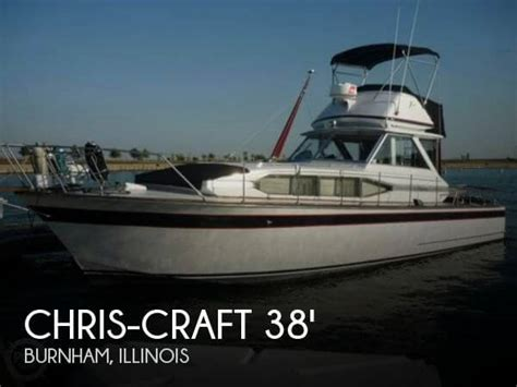 chris craft boats for sale in illinois for sale used 1969 chris craft 38 riveria in burnham