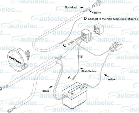 led driving lights wiring diagram for sata power wiring