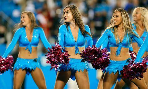 carolina cheerleaders bathroom nfl cheerleaders week 5 si com