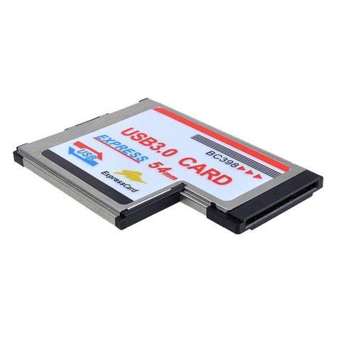 Express Card 54mm Usb 3 0 express card expresscard 54mm to 2x usb 3 0 adapter