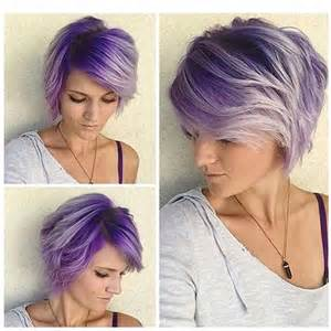 haircolor for 64 yr best 25 short purple hair ideas on pinterest short