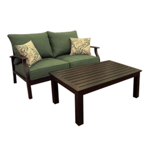 Lowes Allen Roth Patio Furniture by Allen Roth Patio Eastfield Loveseat Sofa Accent Chairs