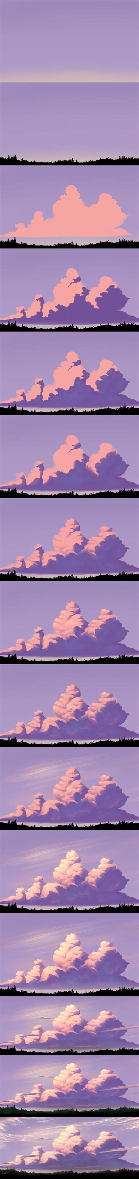visitor pattern step by step 93 best images about how to draw clouds and sky on