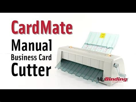 cardmate business card cutter template duplo cc 228 business card cutter doovi