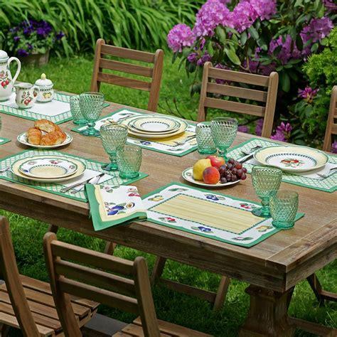 Villeroy And Boch Garden Cork Placemats by Villeroy Boch Garden 20 In W X 14 In L Multi