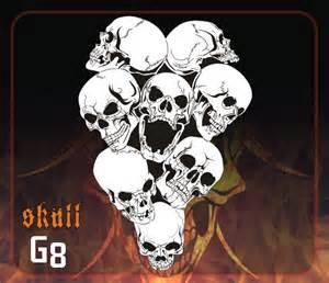 skulls airbrushing free skull stencils