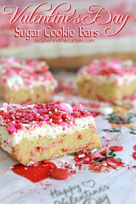 valentines day sugar cookies s day sugar cookie bars