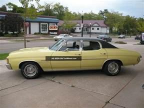 1972 chevrolet chevelle malibu 350 v8 a c ss wheels 59k