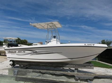 angler 204 boat angler 204 fx boats for sale boats
