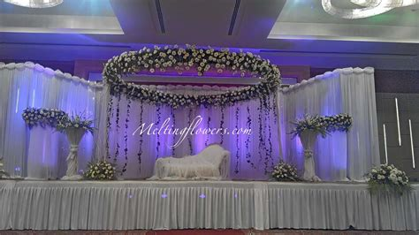 decorations for wedding backdrops backdrop decorations melting flowers