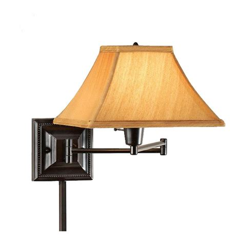 home depot swing arm l home decorators collection 1 light bronze copper kingston