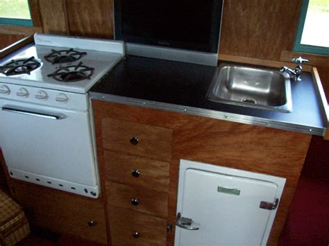 how to build rv cabinets how to build cabinet for rv stove the complete vintage