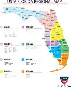 florida regions map my