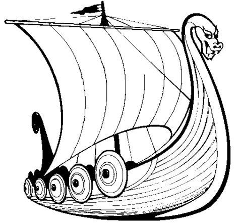 barcos para pintar on line desenho de barco viking para colorir colorir