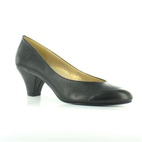 tumberumba sumfortune womens leather court shoes black