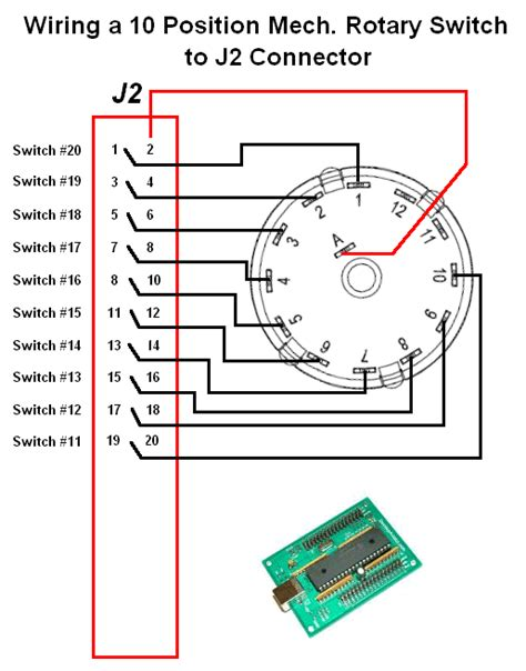 4 position rotary selector switch wiring drawing three