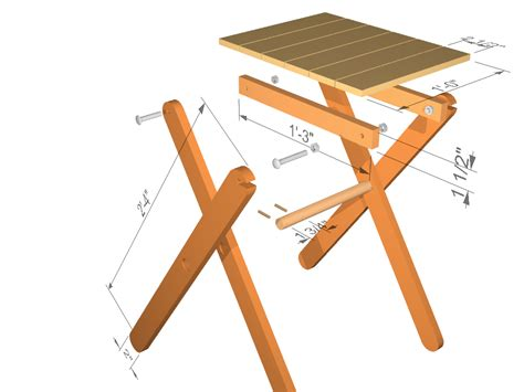 Wood Folding Table Plans How To Make Wood Folding Table Pdf Woodworking