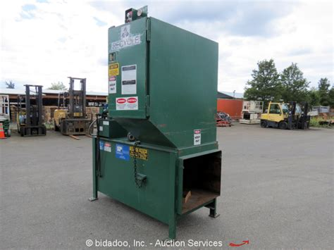 trash compacted residential commercial trash compactors inc sp industries inc cp331 commercial trash compactor system