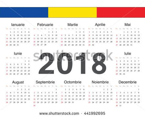 Denmark Calendario 2018 Vector German Circle Calendar 2018 Week Stock Vector