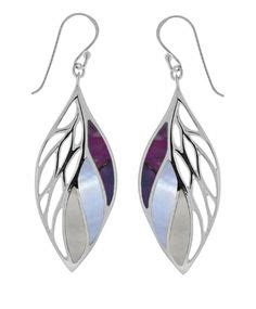 Boma Sterling Silver Leaf Earrings judith sterling silver marcasite square drop earrings