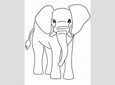 Free Printable Elephant Coloring Pages For Kids Elephant Printable Clipart