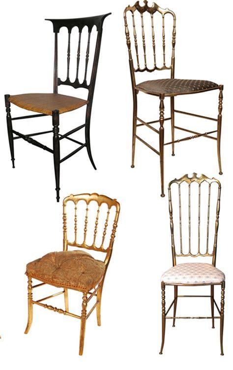 Chivalry Chairs by Sanojah S The Chiavari Chair History