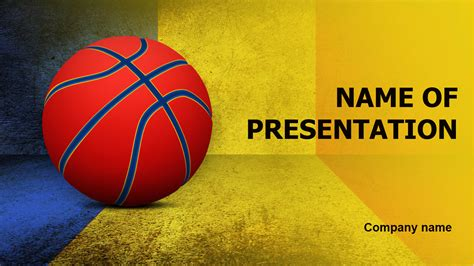 Download Free Romanian Basketball Players Powerpoint Theme For Presentation Eureka Templates Basketball Powerpoint Template Free