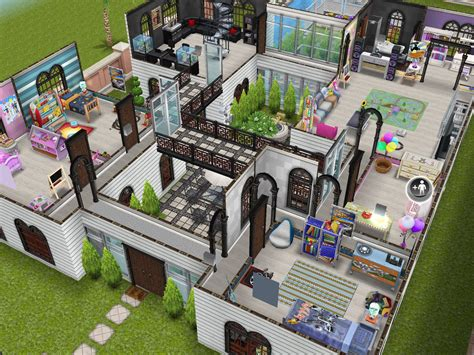 sims house ideas sims freeplay house design family mansion sims