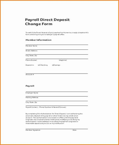 payroll change form template free 7 payroll change form template simple salary slip