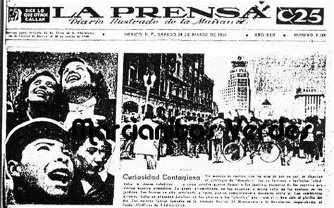 de la prensa escrita valles ruiz revista mexicana de opinin la oleada de 1950 marcianitos verdes