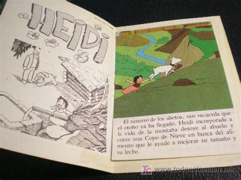 libro nieve antigua bonito libro cuento de heidi copo de nieve comprar